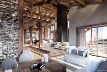Projet Arkland / projet immobilier Megeve - construction de luxe-chalet sur piste- luxury chalet in Megeve-