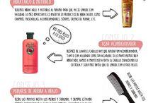 Tips para el cabello...