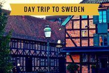 Denemarken, Zweden trip
