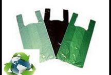 fios de sacolinha de plástico