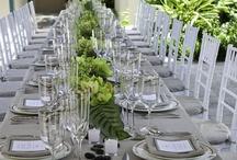 Green/Grey Wedding Theme