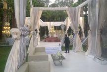 Boda de grandes diversiones / Una boda al aire libre en agosto