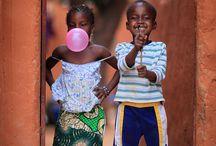 Kid smiles around the world