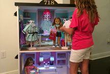 American girls doll mansions