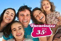 Vacaciones en Familia con niños / Encuentra las mejores vacaciones para realizar en Familia con niños, singles con niños. Haz que tus hijos disfruten de sus vacaciones