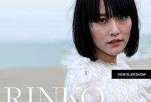 Rinko Kikuchi / by Mamiko Hayashi