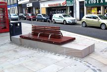 Forfar Town Centre Project / Factory Furniture were appointed to design some sturdy double and single sided seating to go into a development in the town centre in Forfar.