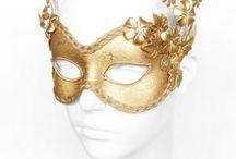 Maschere Oro /Mask Gold Carneval