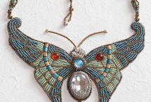 fluture colier