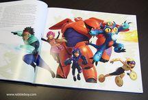 A look at Disney's BIG HERO 6 Art Book