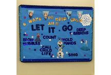 Child Life bulletin board