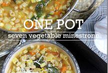 Zuppe, minestre, creme e vellutate / Ricette e belle foto