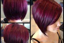 Hair cuts and colour