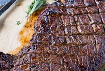 Grilled steak / London Broil