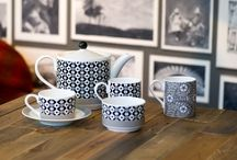 Primrose Design / The Paris based design house Primrose Bordier are famous for their colourful & innovative designs on home textiles. Primrose Bordier have now teamed up with us to launch a collection of contemporary designs combining black & white geometrics with contrasting bright florals!