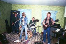 Gollywog 1976 / Tranåsbandet Gollywog, Håkan Schüler sång, Anders Schierbeck bas, Peter Abrahamsson gitarr och Thomas Kisa Andersson trummor