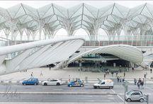 Lissabon  Architektur Santiago Calatrava