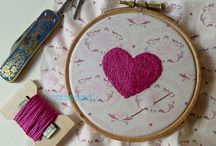 Happy thoughts: Embroidery