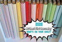 #ShelfieTuesday / Exposing our shelves every tuesday! Show us what's on your shelf!
