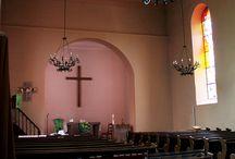 Vitraux de l'Église protestante de Schweifghouse-sur-Moder / Vitrail et vitraus d'art.