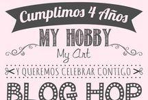 Blog Hop 4o Aniversario de My Hobby My Art