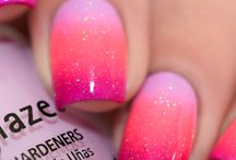 Beauté ongles dégradés