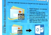 Live Mail Calendars Recovery Software / Live Mail Calendars Recovery Software easily convert live mail calendars into outlook file.