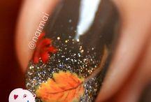 Nail Art - Autumn Nails