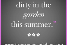 Funny boards for garden