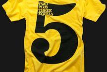 5 | Graphic Design & Inspiration / 5 Dot Design - Inspiration for the number 5, graphic design, art, five. http://fivedotdesign.com/