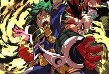 x Boku no Hero x