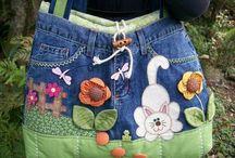 Bolsas de jeans
