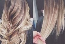 mechas californianas /umbre