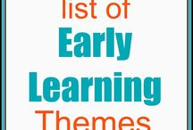 early learning themes