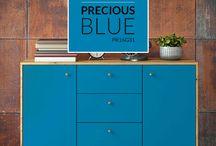 PREMIER Paint: Precious Blue / Introducing our PREMIER Paint colour of the month for June: Precious Blue! (Colour code: PR16G31) #PaintWithPREMIER