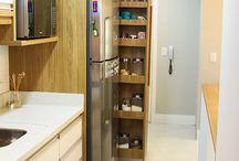 Cozinha integrado com lavanderia