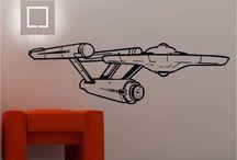 Star Trek Office / Design elements for my new office.