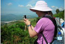 Anike to walk the Camino de Santiago. Pilgrams walk Spain!