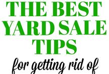 Yard Sale ideas