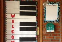 Music Bulletin Boards / Bulletin boards for the music classroom.