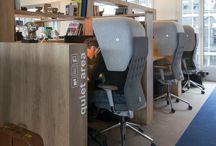 Interior desk/chill zone