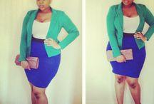 Big Beautiful Black Girls / Plus Size Fashion