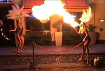 The Morgan Bar - Fire Breathers / The very glamorous Vegas like girls recently visited The Morgan Bar. You just never know what surprises we have in store at The Morgan Bar!!