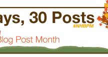 November Is National Health Blog Post Month / #NHBPM