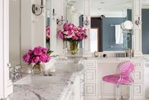 "Best of ""Bathrooms"" / Beautifully designed bathrooms, remodeling and design ideas and handy tip and tricks."