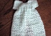 Crochet Preemie dress
