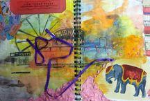 Art: Visual Journal ~ Journey
