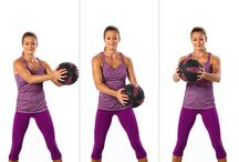 Exercise and healthy living / Exercise and healthy living tips, ideas, infographics