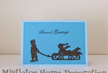 Winter-Christmas greeting cards