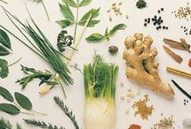 herbs and crystals